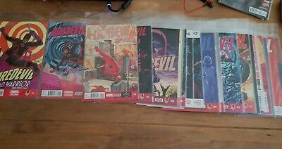 Daredevil Volume 4 issues 1 - 17 includes 0.1 and 1.5 (2014-2015)