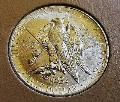 1936 TEXAS Commemorative HIGH GRADE AMAZING DETAIL
