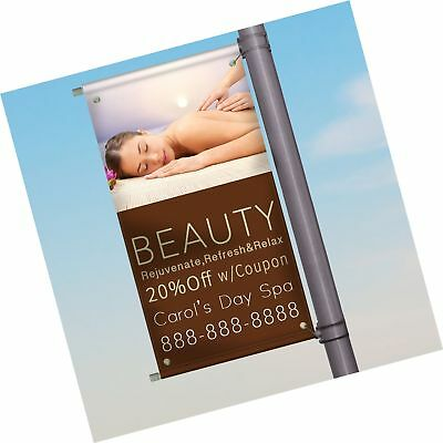 Street Banner Pole Kit - Hardware Only - 24 inches