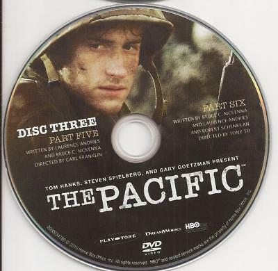 The Pacific HBO (DVD)  Replacement Disc!  Disc 3 Disc Only!  U.S. Issue!