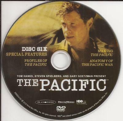 The Pacific HBO (DVD)  Replacement Disc!  Disc 6 Disc Only!  U.S. Issue!