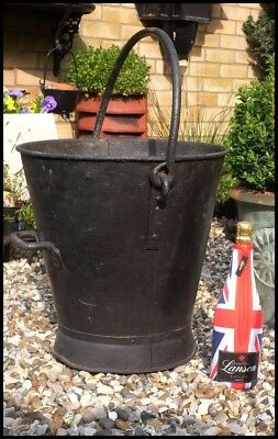 Vintage Large Coal Bucket Garden Feature Planter