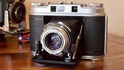 Agfa Super Isolette  / Super Speedex f3.5 Solinar - CLA'd of course !!