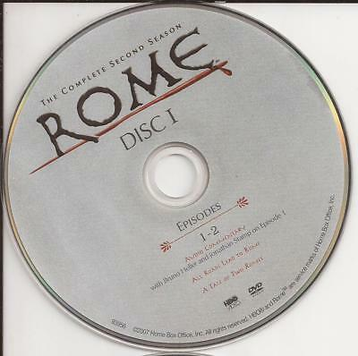 Rome (DVD) HBO Season 2 Disc 1 Replacement Disc U.S. Issue Disc Only!