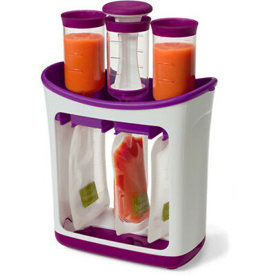 Infantino Fresh Squeezed Squeeze Station Food Maker Baby Feeding Pouches Toddler