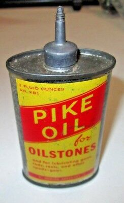 Pike for Oilstones Gun /Fishing Oil Can (Vintage original) Pre-owned