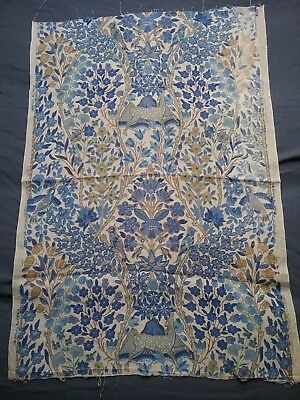 Vintage Liberty & Co Linen Fabric