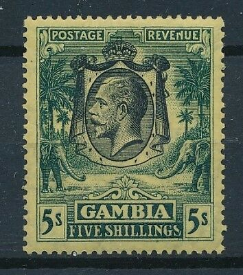 [36498] Gambia 1922/27 Good stamp Very Fine MNH