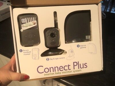 Summer Connect Plus Internet Baby Monitor System - Brand New