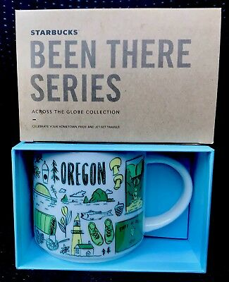Starbucks Been There Oregon Cup Replacing You Are Here YAH Coffee mug