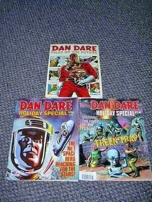 DAN DARE COLLECTION - Pilot of the Future + two Holiday Specials