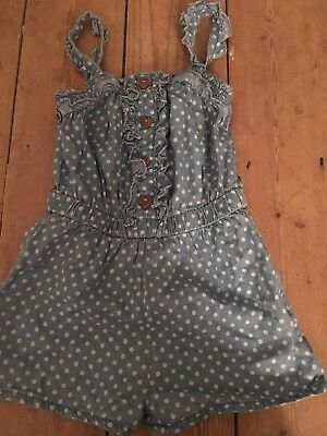 Girls Playsuit Age 3-4 Years