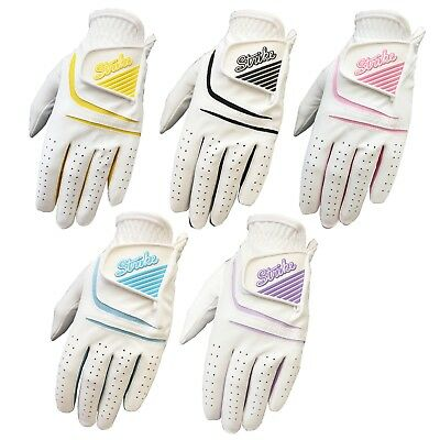 Pack of 5 SG Ladies All Weather Golf gloves cabretta leather palm patch 4 women