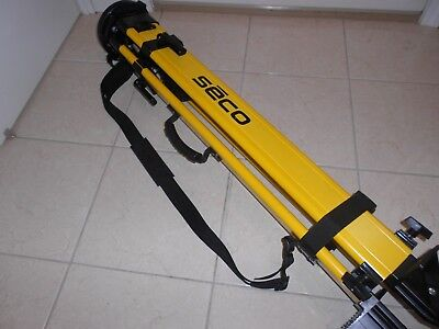 Seco Tri-Max Tripod Dual Locks  For Topcon Leica Total Station Crain Tri-Max