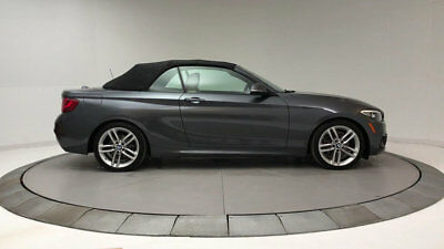 BMW 2 Series 230i 230i 2 Series 2 dr Convertible Automatic Gasoline 2.0L 4 Cyl Mineral Gray Metall