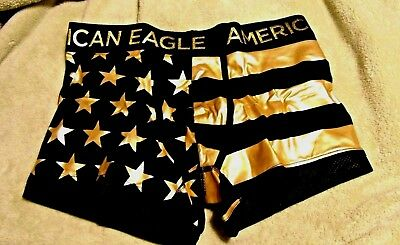 unbeatable price discount price famous brand MENS UNDERWEAR AMERICAN Eagle Gold Stars And Stripes Boxer ...