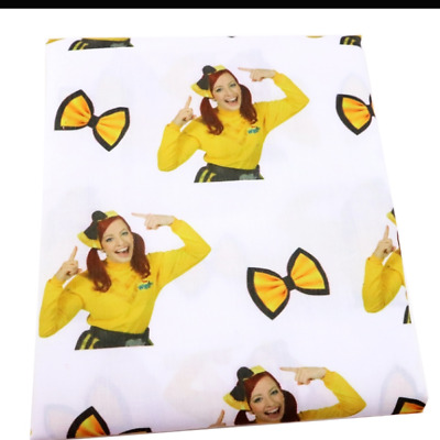 Emma The Wiggles Fabric Poly Cotton 1m x 1.4m