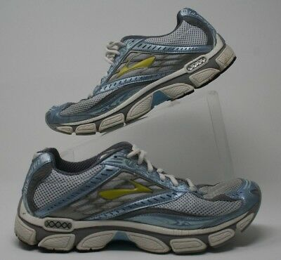 863f62ba7a3 BROOKS GLYCERIN 8 Women s Running Shoes Size 10 Blue Silver Lime ...