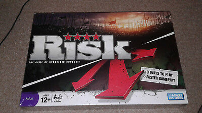 Risk The Game of Strategic Conquest Board Game Brand New and Sealed