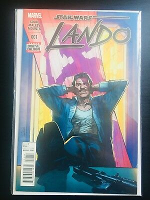 Star Wars: Lando Comic Books - Complete Collection; Issues 1-5.