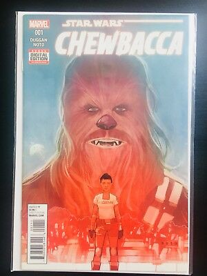 Star Wars: Chewbacca Comic Books - The Complete Collection; Issues 1-5.