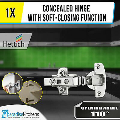 Hettich Concealed Hinge110 degree soft-closing Cabinet Cupboard German made