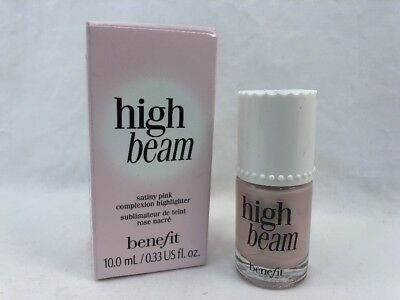 Benefit High Beam full size New/Unused 0.33 fl oz Satiny Pink NIB 100% Authentic