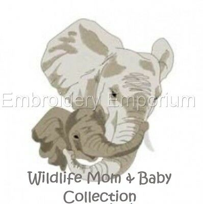 Wildlife Mom & Baby Collection - Machine Embroidery Designs On Cd