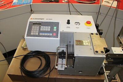 Schleuniger OC3950 Automatic Wire/Tube Cutting (Cut to Length) Machine - VAT inc