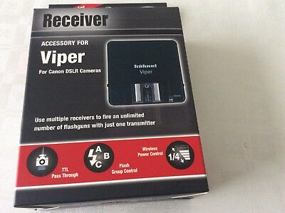Hahnel Viper Wireless Group Flash Trigger for Canon 1 Receiver