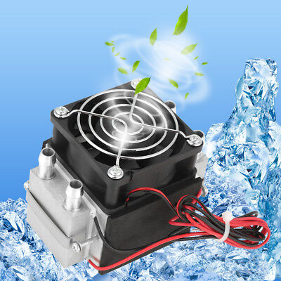 2-chip 12V 240W Semiconductor Refrigeration Water-cooled Air Cooling System Kit