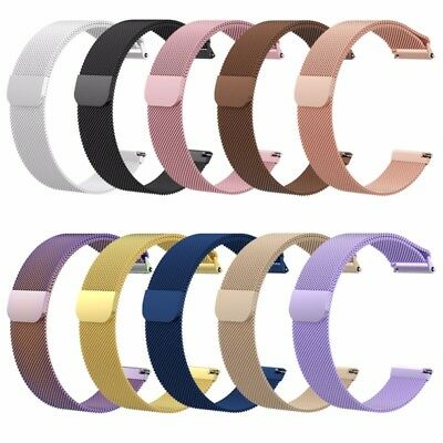10 Colors Milanese Loop Stainless Steel Watch Band Strap For Fitbit Versa 2018
