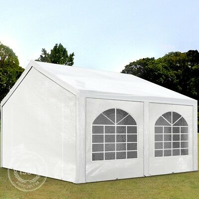 pavillon 5x5m 3 5 m hoch gazebo party gartenzelt blau. Black Bedroom Furniture Sets. Home Design Ideas