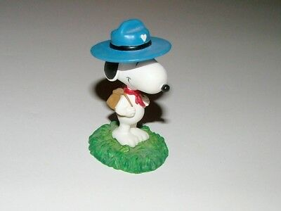 """peanuts"" Westland Snoopy Figurine - ""snoopy Camping - Mint Condition"