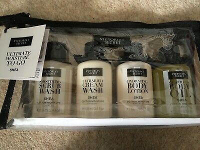 Victoria's Secret Ultimate Moisture To Go Shea Gift Set. New With Tag
