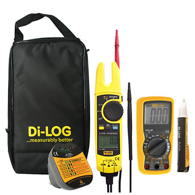 Di-Log DL6799 CombiVolt 5 Voltage Continuity Current Tester plus extras KIT4V