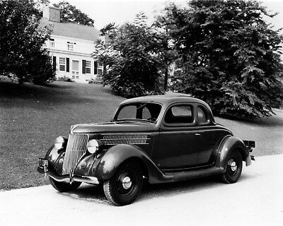 1936 Ford V8 Deluxe 5 Window Coupe Factory Photo cb0411