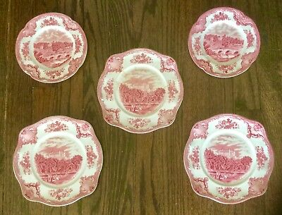 JOHNSON BROS - Old Britain Castles - Lot of 5 plates