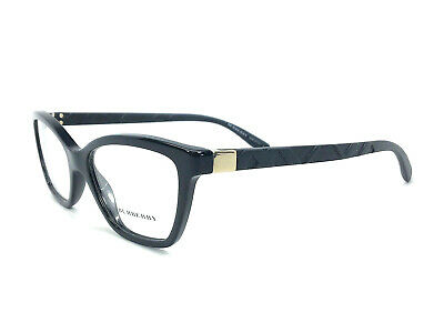 bf7c383e49b BURBERRY BE2210 3001 Black Gold   Demonstration Lens 53mm Eyeglasses ...