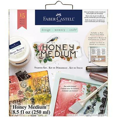 Faber-Castell Honey Medium Starter Kit 15Pc- 092633308073