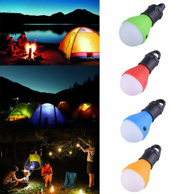 Outdoor Camping LED Bulb Hanging Tent Light Fishing Emergency Lantern for Picnic