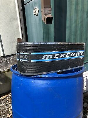 Late 70's Mercury Thunderbolt 500 50hp side cowling