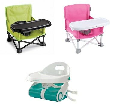 Summer infant Pop n' Sit Baby Portable Travel Booster Seat Highchair Alternative