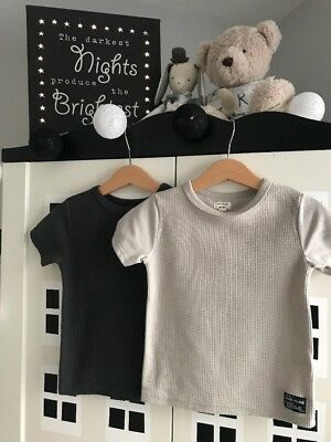 Baby Boy River Island Two T-shirt 18-24 Months