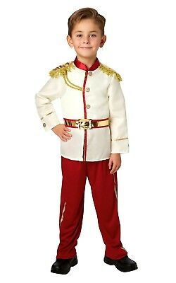 Child PRINCE CHARMING DISNEY Fancy Dress Costume Boys Fairy tale Royal Wed Kids