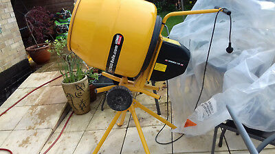 Belle Minimix 130 Electric Concrete Cement Mixer And Stand