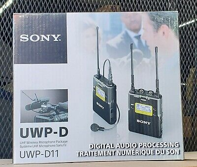 Sony UWP-D11/14 Integrated Digital Wireless Bodypack Lavalier Microphone System