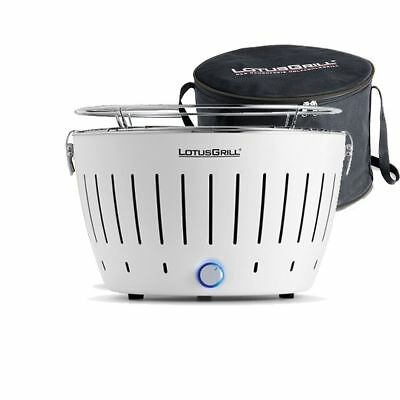 Lotusgrill - Barbecue Portable 2-4 Personnes Blanc
