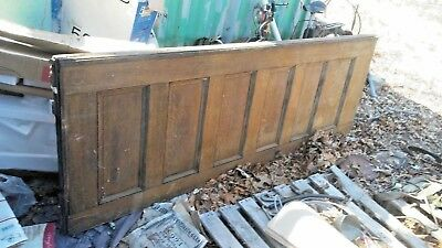 Antique vintage  Panel Tall Solid Wood interior  door 1887
