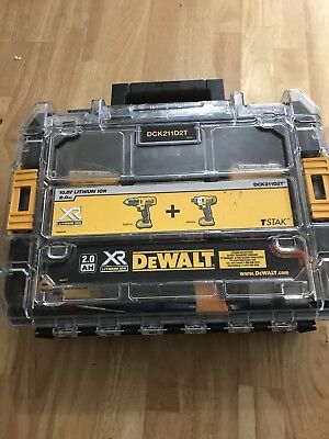 Dewalt Impact Driver 10.8v And Drill Also 10.8v With 2 Battery's Used Condition